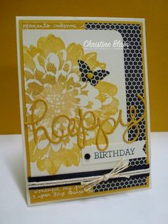 HAPPY HEART CARDS: STAMPIN' UP!''S DEFINITELY DAHLIA MEETS CRAZY ABOUT YOU