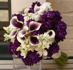 decoracion unñas de novia con violeta - Buscar con Google