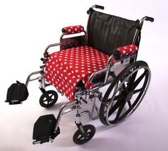 Wheelchair Accessory - STYLE - Reversible Seat Cover, pad and pouch system #WheelchairSolutions