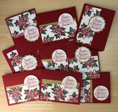 Jesus is the Reason for the Season One Sheet Wonder Christmas Cards