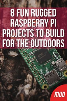 8 Fun Rugged Raspberry Pi Projects to Build for the Outdoors - DIY Technology Projects - Electronics Projects, Iot Projects, Computer Projects, Robotics Projects, Arduino Projects, Pi Computer, Cool Raspberry Pi Projects, Raspberry Computer, Arduino Beginner