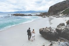 Image by Illuminate Photography - A South African destination outdoor wedding with Cherish Suzanne Neville wedding dress, maids in off white and pink floral colour scheme and suit from Cad and The Dandy Suzanne Neville Wedding Dresses, Coastal Wedding Inspiration, Maids, Absolutely Stunning, Color Schemes, African, Suit, Colour, Centre Pieces
