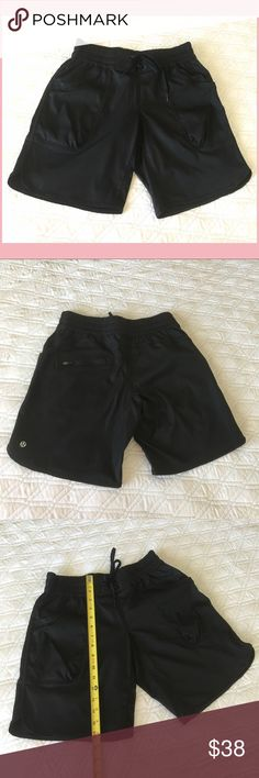 Authentic Lululemon Black Shorts Authentic. Lovely black shorts from Lululemon 💕 Size 4. In excellent condition. NO TRADE ❌ lululemon athletica Shorts