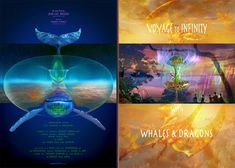Gallery 3 : Voyage to Infinity with Dolphins, Whales and Dragons