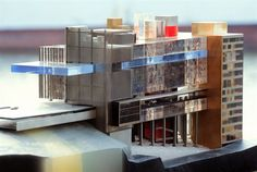 OMA Koolhaas UNIVERSAL HEADQUARTERS, USA, LOS ANGELES, 1996  New Headquarters for Universal Studios in Universal City, Hollywood