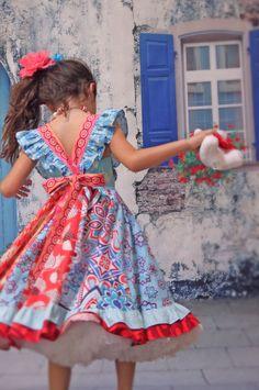 Beechwood Park Red Twirl Dress by maninisunshine on Etsy