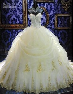 Wholesale 2013 Wedding Dresses - Buy - Deluxe ! Sweetheart Strapless BallGown Beaded Lace Up Back Ruffles Royal Wedding Dresses Bridal Gowns 2013 New Style 1010, $160.21 | DHgate