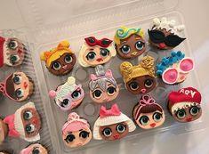 LOL Surprise Dolls Cupcakes