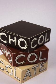 Chocolate Packaging by Ujala Shrestha, via Behance