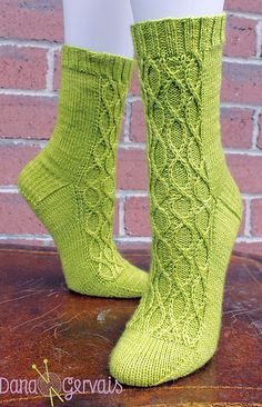 Ravelry: River Song Socks pattern by Dana Gervais