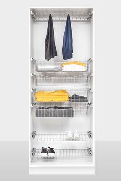 Ettermonterte kurver til garderobeskap Shoe Rack, Home, House, Shoe Closet, Ad Home, Homes, Haus, Shoe Racks