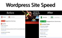 optimize your Wordpress site speed for Google