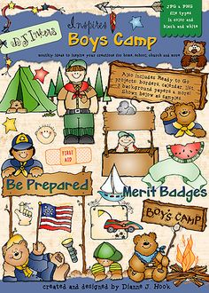 You'll 'be prepared' for any creative project the boys may need for scouts, hikes, & camp-outs with our NEW 'DJ Inspires Boys Camp' download. Perfect for Boy Scouts, church camp, youth group, or summer camping! Go to product: http://www.djinkers.com/djinspires_boyscamp.html