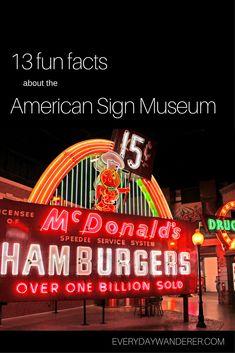 American Sign Museum in Cincinnati, Ohio - 13 fun facts before you visit #cincinnati