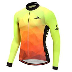 Buy Men s Cycling Jersey Long Sleeve Reflective - Fluorescence - and Others  Best Selling Men s Performance Jackets with Affordable Prices acf6f515c