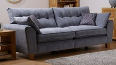 Brooke is a generously-proportioned range, just right for luxurious lounging or larger households. Finance available! Log Burner, Round Mirrors, Fabric Sofa, My Dream Home, Color Patterns, Love Seat, Armchair, Lounge, Couch