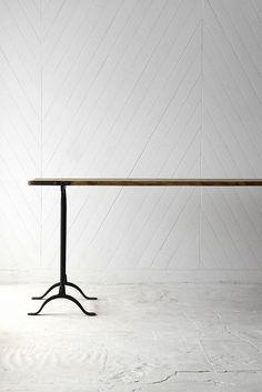 Iron Leg Work Table
