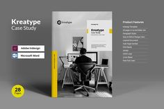 Kreatype Case Study by Kreatype Studio on @creativemarket