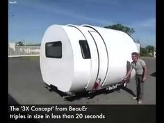 Telescopic Camper Van Road trips will never be the same again Credit: Viral thread