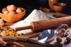 Grain-free flours for baking.