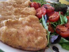 Milanesa de atún al horno – Cotoletta di tonno al forno