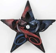 Dragons Pentagram : Pagan Store, Wiccan Store, Witchcraft Store, An online Pagan, Wiccan and Witchcraft store