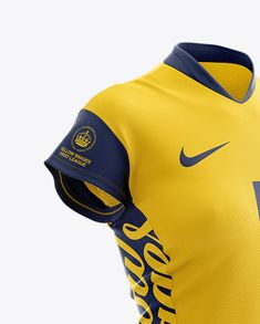 be5bebc328b Women's Volleyball Jersey Mockup - Half Side View in Apparel Mockups on  Yellow Images Object Mockups
