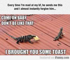 Everytime I'm Mad At My Boyfriend...