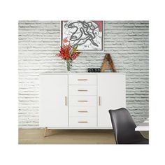 Shop for Scandinavian Lifestyle Texas Highboard. Get free delivery at Overstock.com - Your Online Furniture Shop! Get 5% in rewards with Club O!