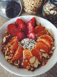 Nutritious Kitchen: Greek Yogurt Power Bowl