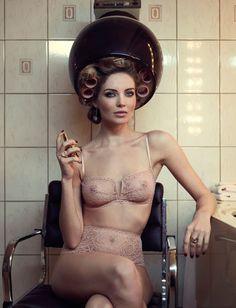The Amazing Photographer: Marc Lagrange ~ Model: Mélissa Gateau ~ Lingerie: Eres