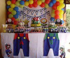 Festa Mario Bros   Loren Festa   21A945 - Elo7