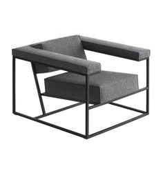 Metropolis arm chair by Roderick Vos.