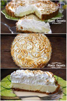 Eu não sei você , mas eu sou completamente apaixonada por Torta de Limão E a receita de hoje, é a melhor, a mais mais, a TOP das receitas. Uma massinha amanteigada, feita com bolacha triturada que…