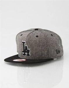 LA Dodgers A-Frame Tweed New Era Snapback Cap