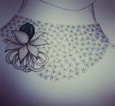 Ideas fashion design sketches chanel for 2019 Photo Jewelry, Fashion Jewelry, Women's Fashion, Necklace Designs, Jewellery Designs, Jewelry Patterns, Jewelry Design Drawing, Jewelry Illustration, Jewellery Sketches