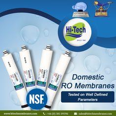 Domestic RO Membranes Suppliers in Thailand. http://www.hitechmembranes.com/product-category/domestic-ro-membrane/