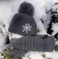 Jednoduchý zimní kulíšek Knitted Hats, Crochet Hats, Crochet Girls, Ear Warmers, Diy And Crafts, Winter Hats, Girls Dresses, Hair Accessories, Knitting