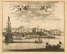 Porto Rico - circa 1625