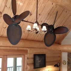 Another Antler Ceiling Fan Cabin Decor Pinterest