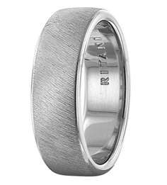 etched men's wedding band