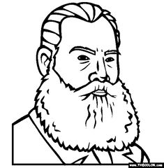 leo tolstoy coloring page free leo tolstoy onlin