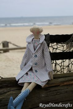 Tilda Doll Princess Handicrafts Needlecraft Marine