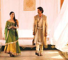 Costumes from Jodha Akbar by Neeta Lulla
