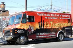 Ever need to lure me out of hiding? Try a chicken burrito from the El Tonayense truck.