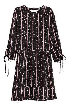 Pastel Pink Kort klänning rosett  MANGO  Klänningar
