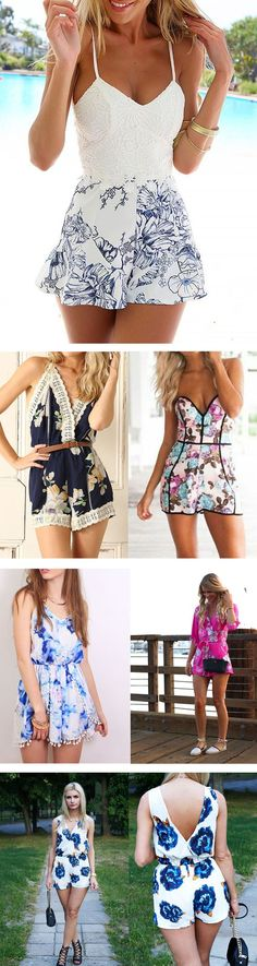 Summer Floral Women Jumpsuits, Perfect Styles!