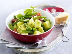 Kartoffelsalat-Rezepte von klassisch bis mediterran - kartoffelsalat-mit-bohnen  Rezept