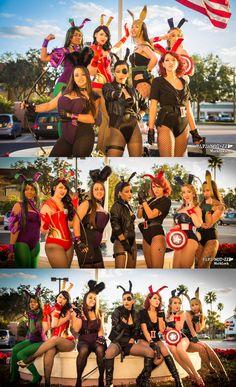 Avenger Bunnies | Holiday Matsuri 2012 - Saturday #notgenderbending