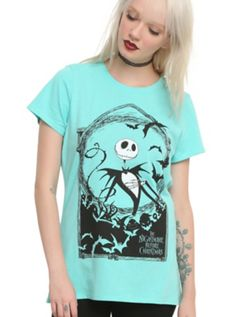 The Nightmare Before Christmas Jack Storybook Girls T-Shirt